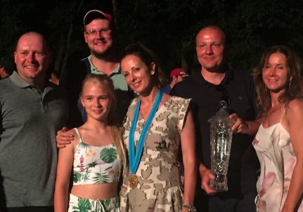 Инна Александрова — золото чемпионата мира по спортингу. Венгрия 2017.