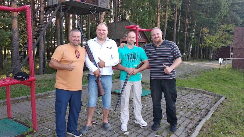 Пара-стрелки | Трап | Тренировка в Спортинг клуб Москва