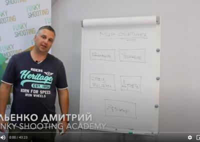 Мир Спортинга Дмитрия Ильенко | Стреляем мишени на падении