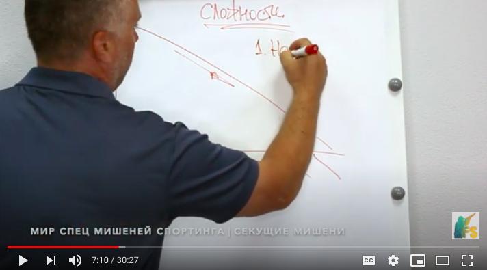 Новое видео| Мир спортинга Дмитрия Ильенко | Стреляем секущие мишени