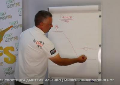 Как стрелять Мишень ниже уровня ног | Мир Спортинга Дмитрия Ильенко | Спец мишени